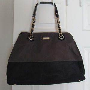 Vintage Kate Spade Brown and Black Bag